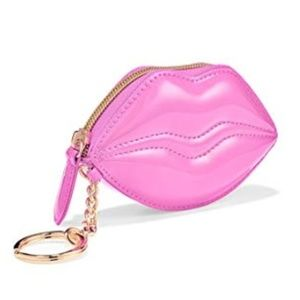 Victoria's Secret Lip Coin Purse Key Chain
